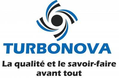 Logo bleu et noir